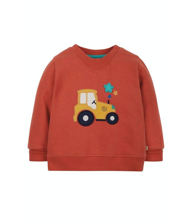 Frugi Kleinkinder Pullover Traktor