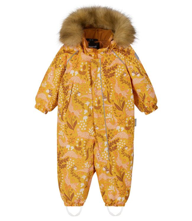 Reima tec Kleinkinder Schneeanzug Lappi Orange yellow