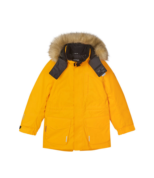 Reima tec Kinder Winterjacke Naapuri Orange yellow