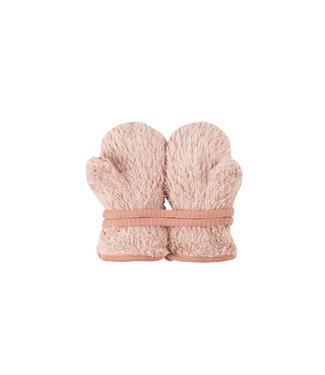 Pure Pure Baby Fäustlinge Plüsch pink clay