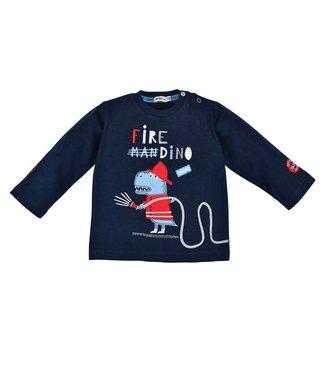 Bondi Kleinkinder langarm Shirt Fire Dino