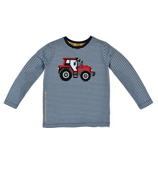Bondi Kleinkinder langarm Shirt geringelt Traktor