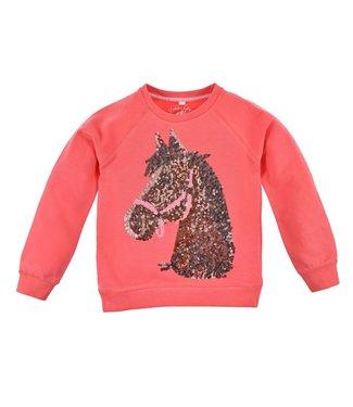 Bondi Mädchen Pullover Pferd