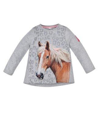 Bondi Mädchen Langarmshirt Pferdekopf