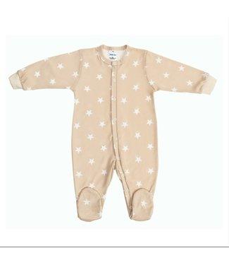 Zewi bébé-jou Baby Kombi Interlock beige/white