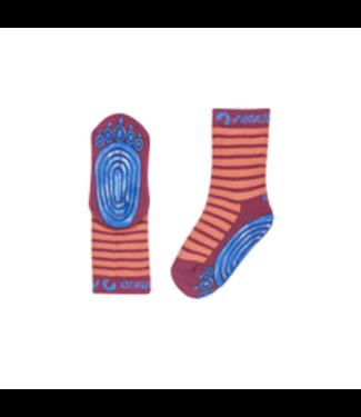Finkid Kinder Socken Tapsut chili/beet red