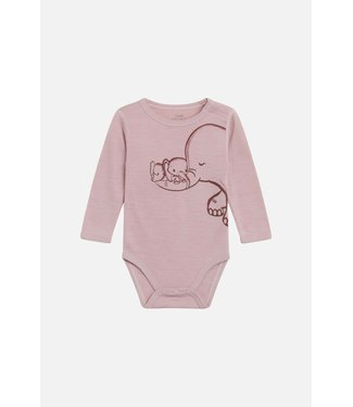 Hust & Claire Woll Body Bo  Dusty rose