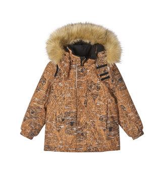 Reima tec reflektierende Winterjacke Sprig Cinnamon brown