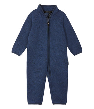 Reima Kleinkinder Fleeceoverall Tahti Jeans blue