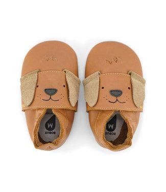 Bobux Lederfinkli little Pup caramel