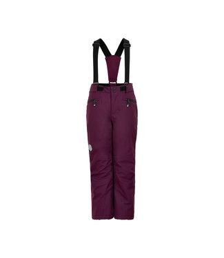 Color Kids Skihose W/POCKETS Potent purple