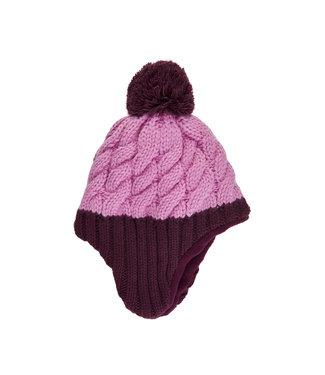 Color Kids Wintermütze Potent purple
