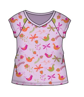 Keedo Baby T-Shirt beautiful lilac