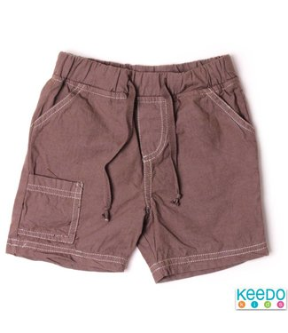 Keedo Baby Shorts Summer choc Brown