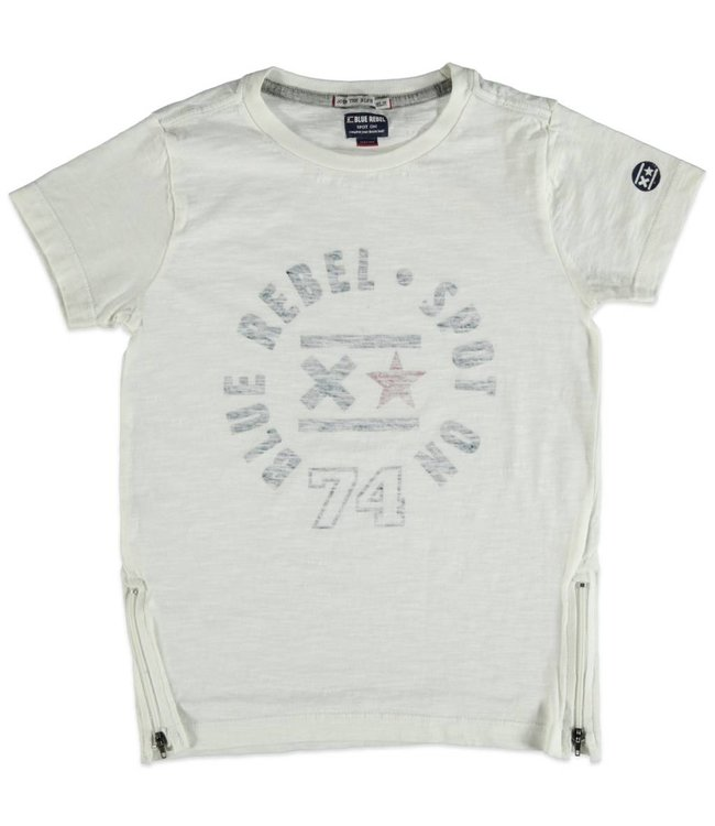 Blue Rebel Jungen T-Shirt optical white