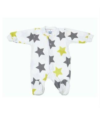 Zewi bébé-jou Baby Kombi Frottée lime stars