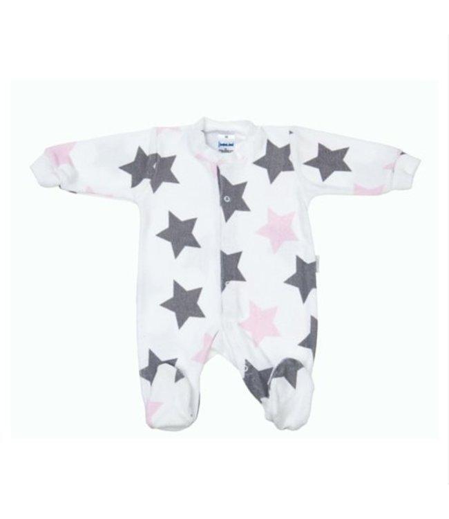 Zewi bébé-jou Baby Kombi Frottée rose stars