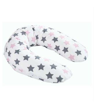 Zewi bébé-jou Lagerungskissen rose stars