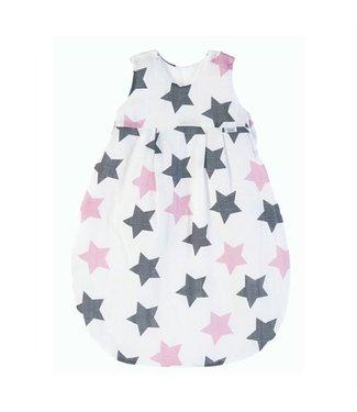 Zewi bébé-jou Schlafsack rose Stars