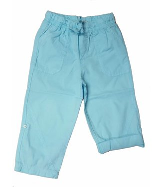 Keedo Roll Up Pants turquoise