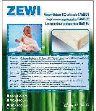 Zewi bébé-jou FIX Leintuch Bambus