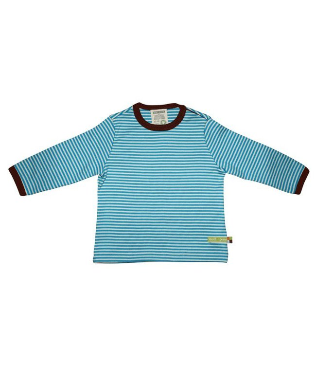 Loud and Proud Shirt 145 - Shirt Streifen Aqua