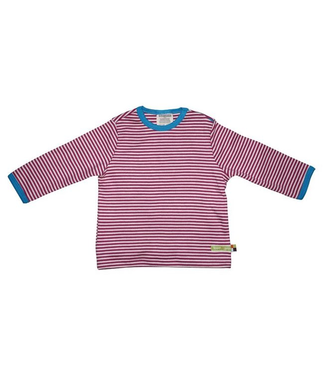 Loud and Proud Shirt 145 - Shirt Streifen Fuchsia