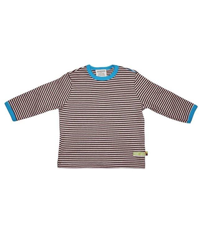 Loud and Proud Shirt 145 - Shirt Streifen Chocolate