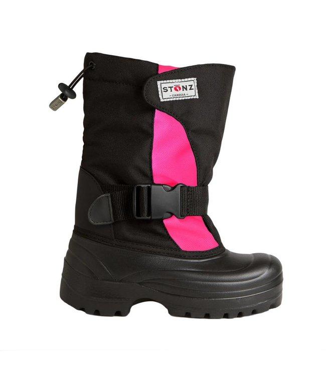 Stonz Winter Bootz Pink/Schwarz