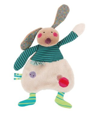 Moulin Roty Kuscheltuch Hase 23 cm