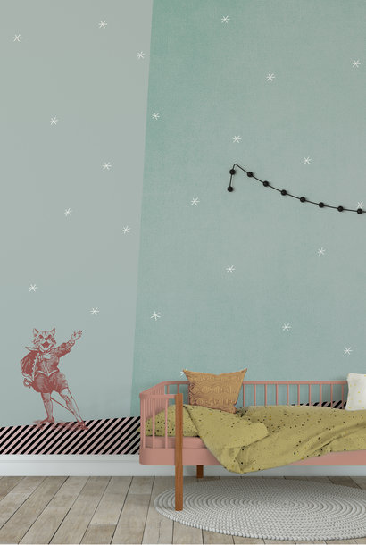 Kids wallpaper Mural - Starry Serenade