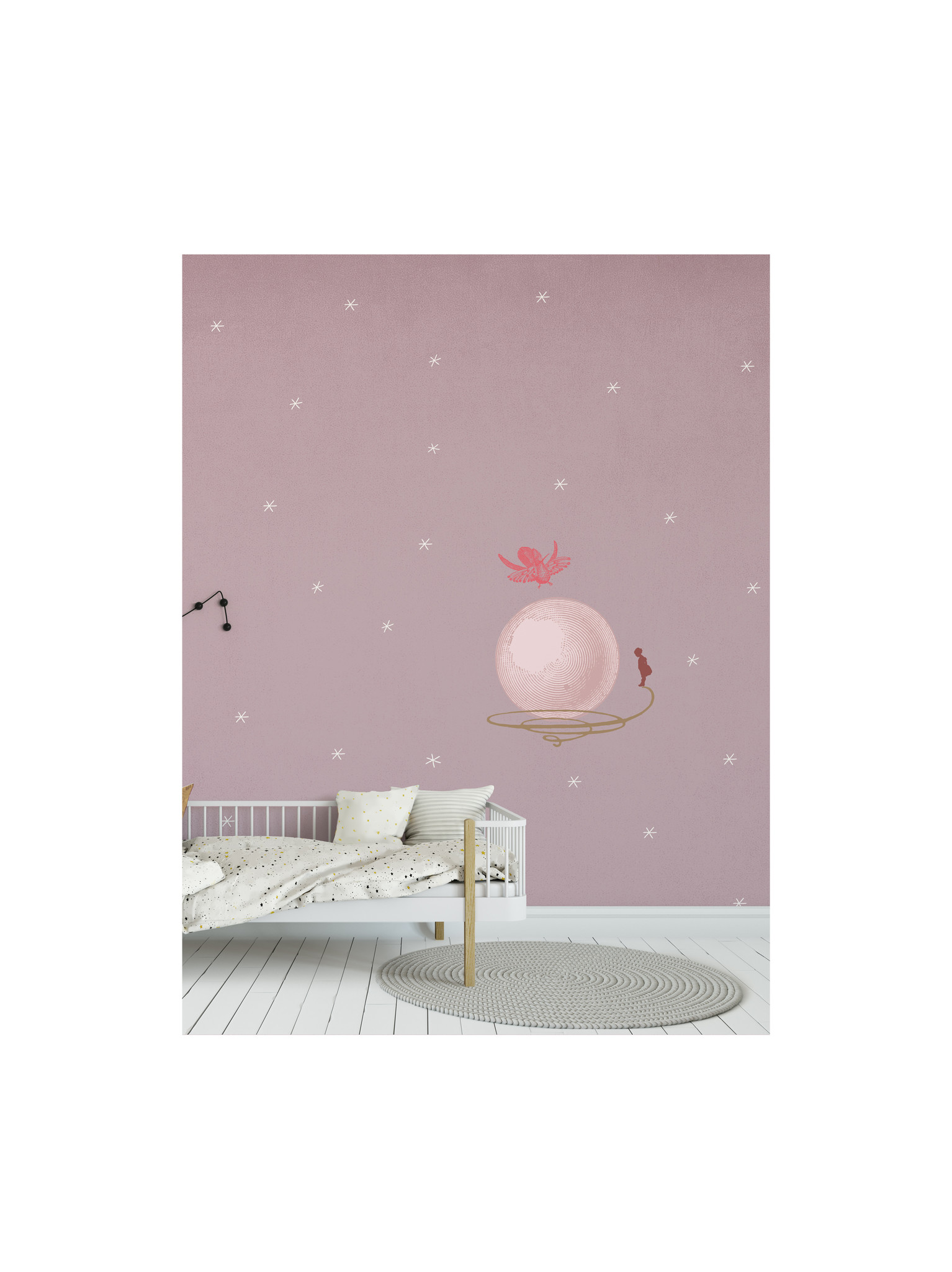 Kids wallpaper Mural - Where is your bubble-3