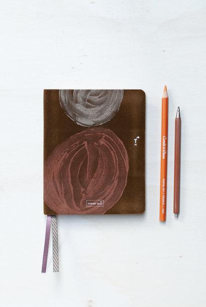 Luxe notitieboek A6 Smokey Quartz