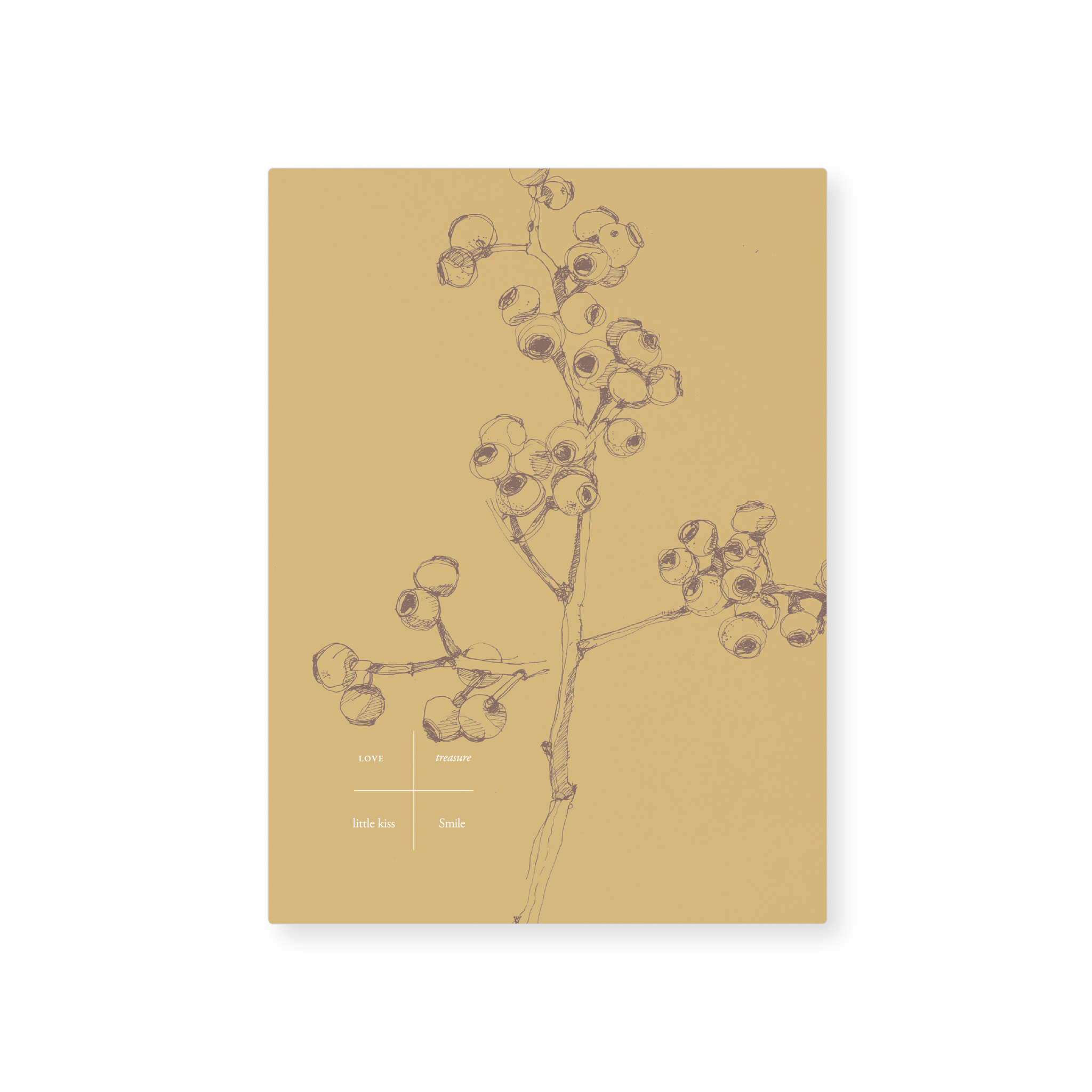 Card - Yellow berry-1