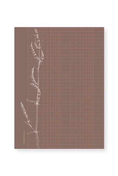 Card - Grass grid (5 pcs.)