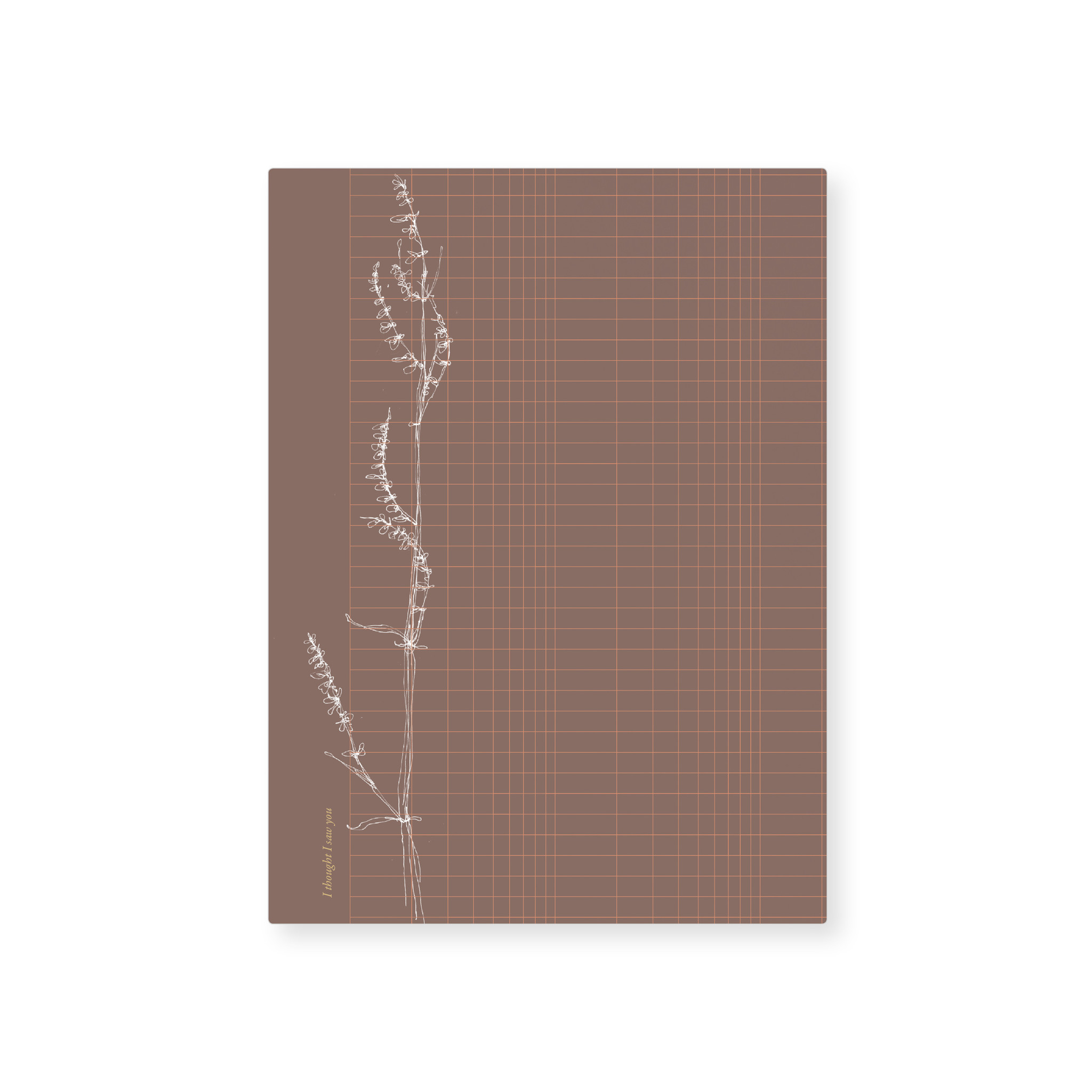 Card - Grass grid - with golden details-1