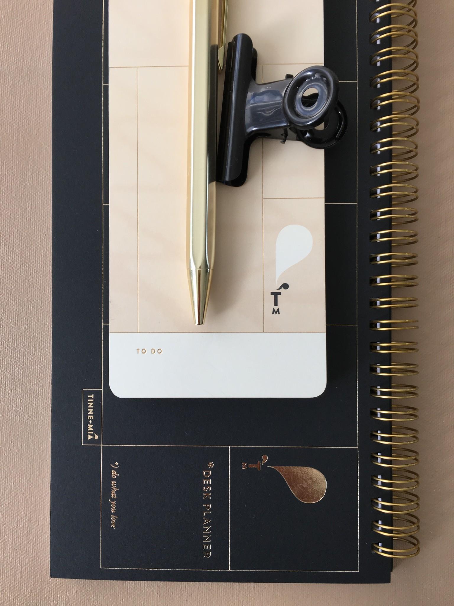 Desk Planner - Noir-3