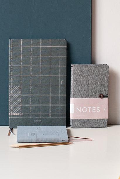 Luxe notitieboek A4 Indigo