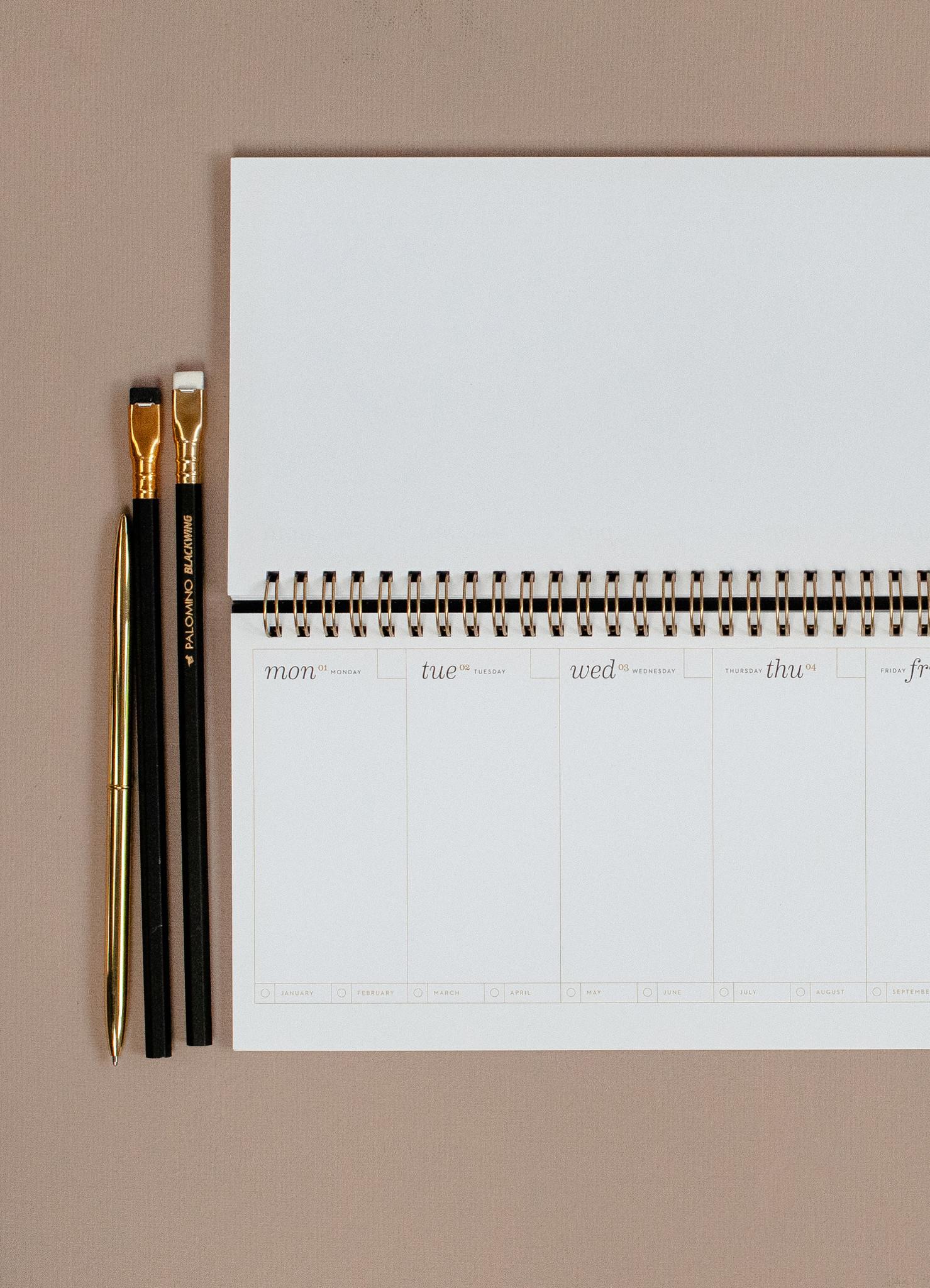Desk Planner - Noir-4