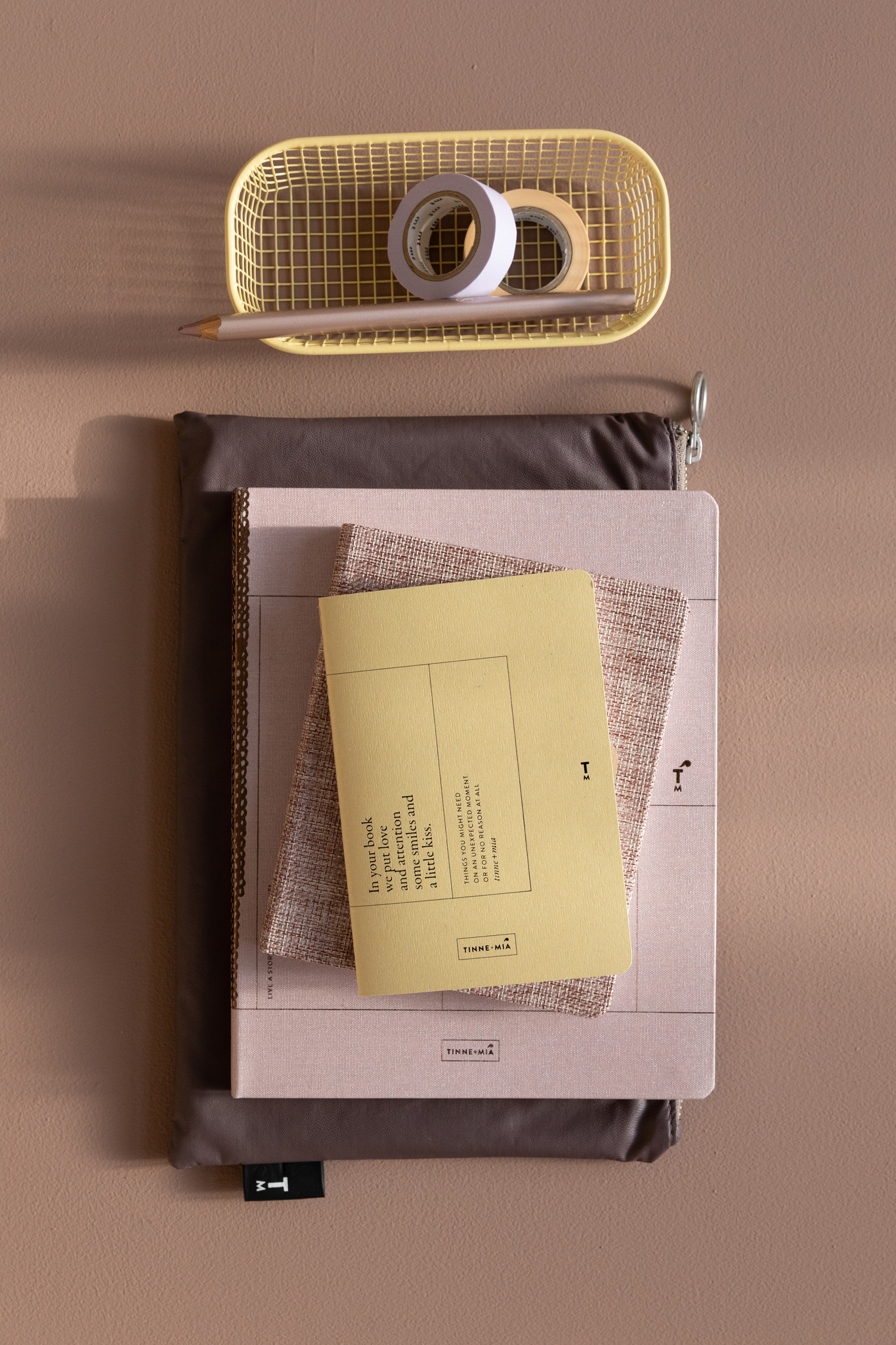 Note Booklet - Faded Lemon-2