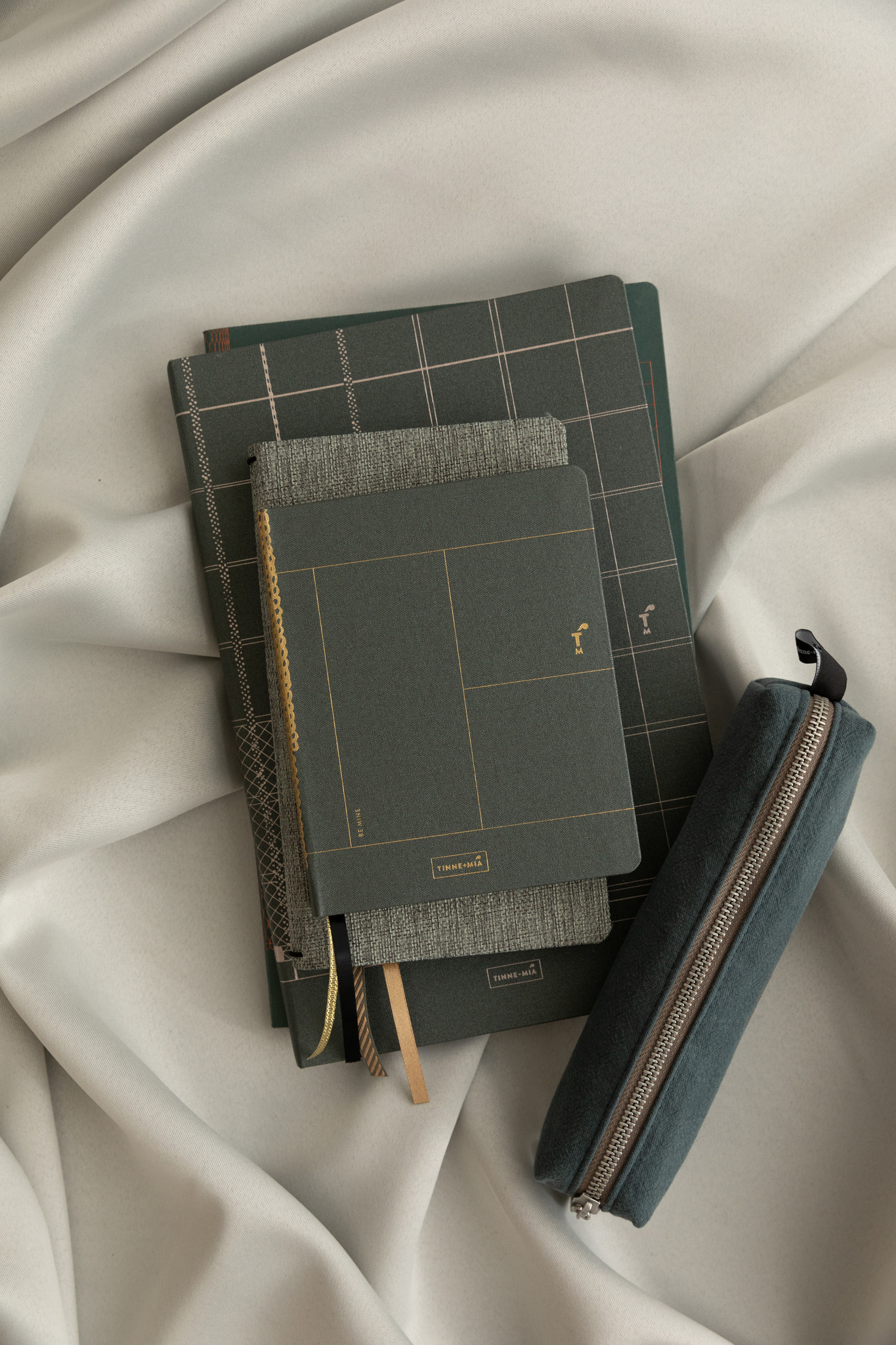 Notebook A6 - Forest Green-2