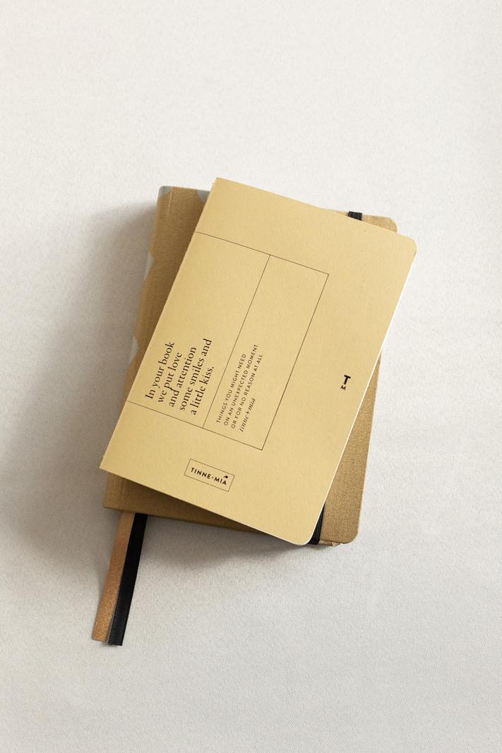 Bullet journal - A6 - Faded Lemon