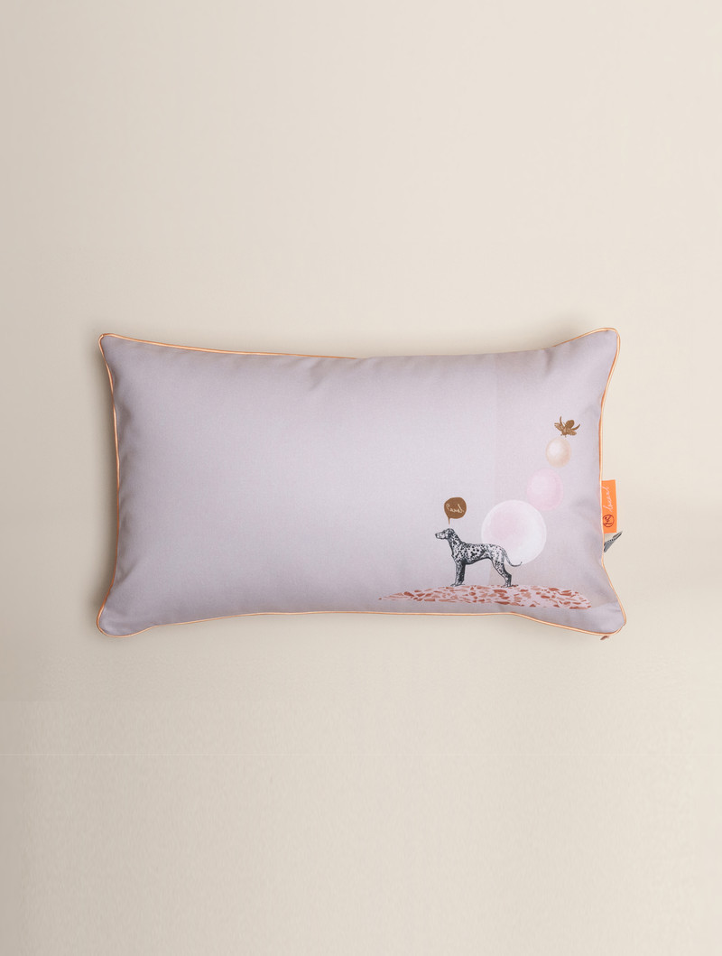 Pillow 'Dalmi Dog' from the Loua series