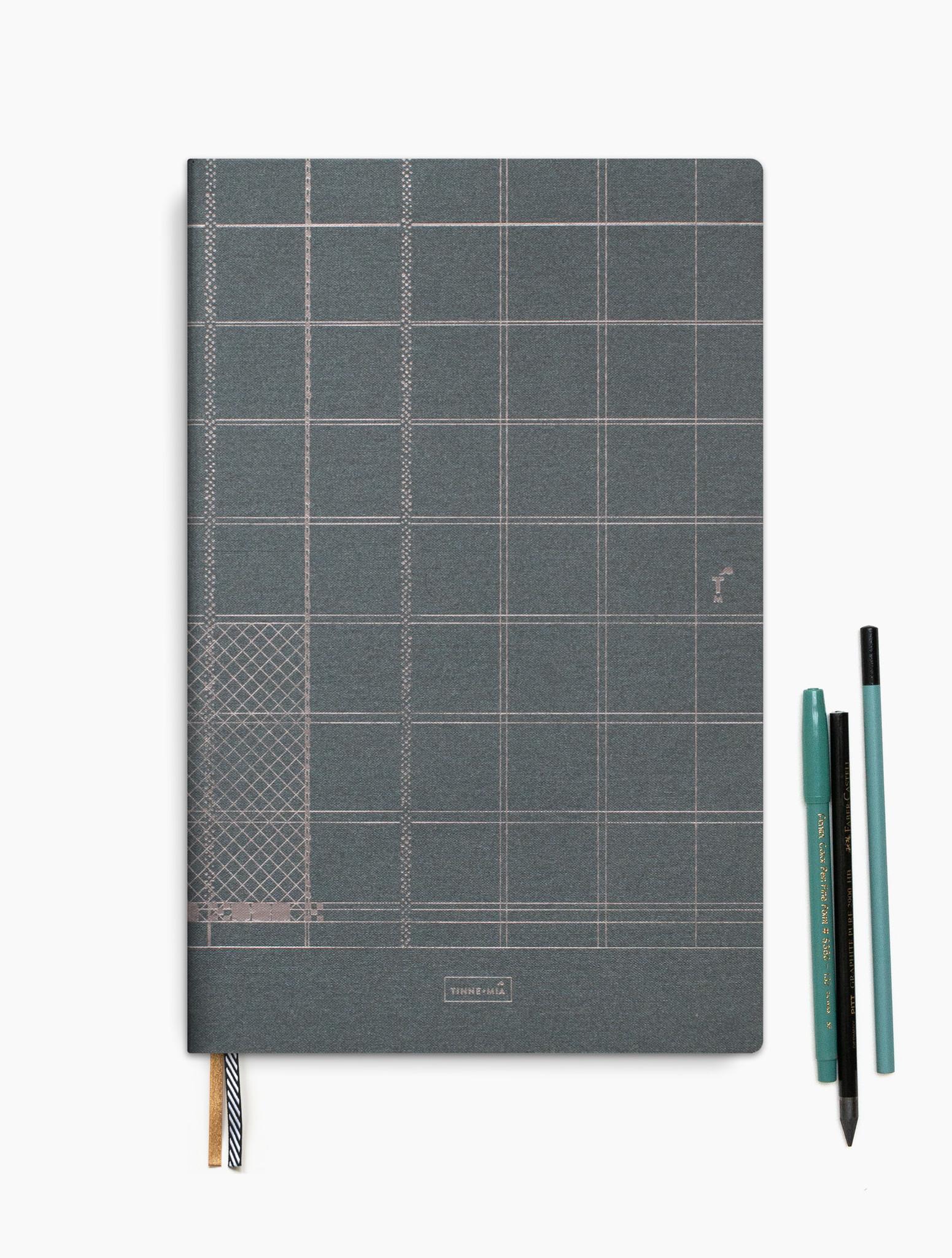 Notebook A4 - Indigo-1