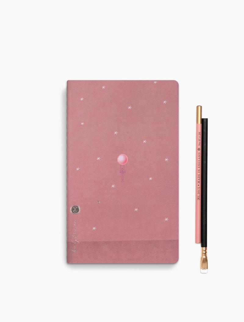 Loua - dotted grid notebook - 13x21cm - Starry Flight
