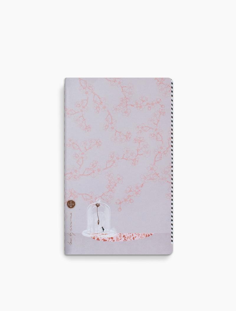 Loua - dotted grid notitieboek - 13x21cm - Vince Dream