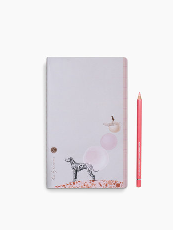 Dot grid notebook Loua - Dalmi Dog