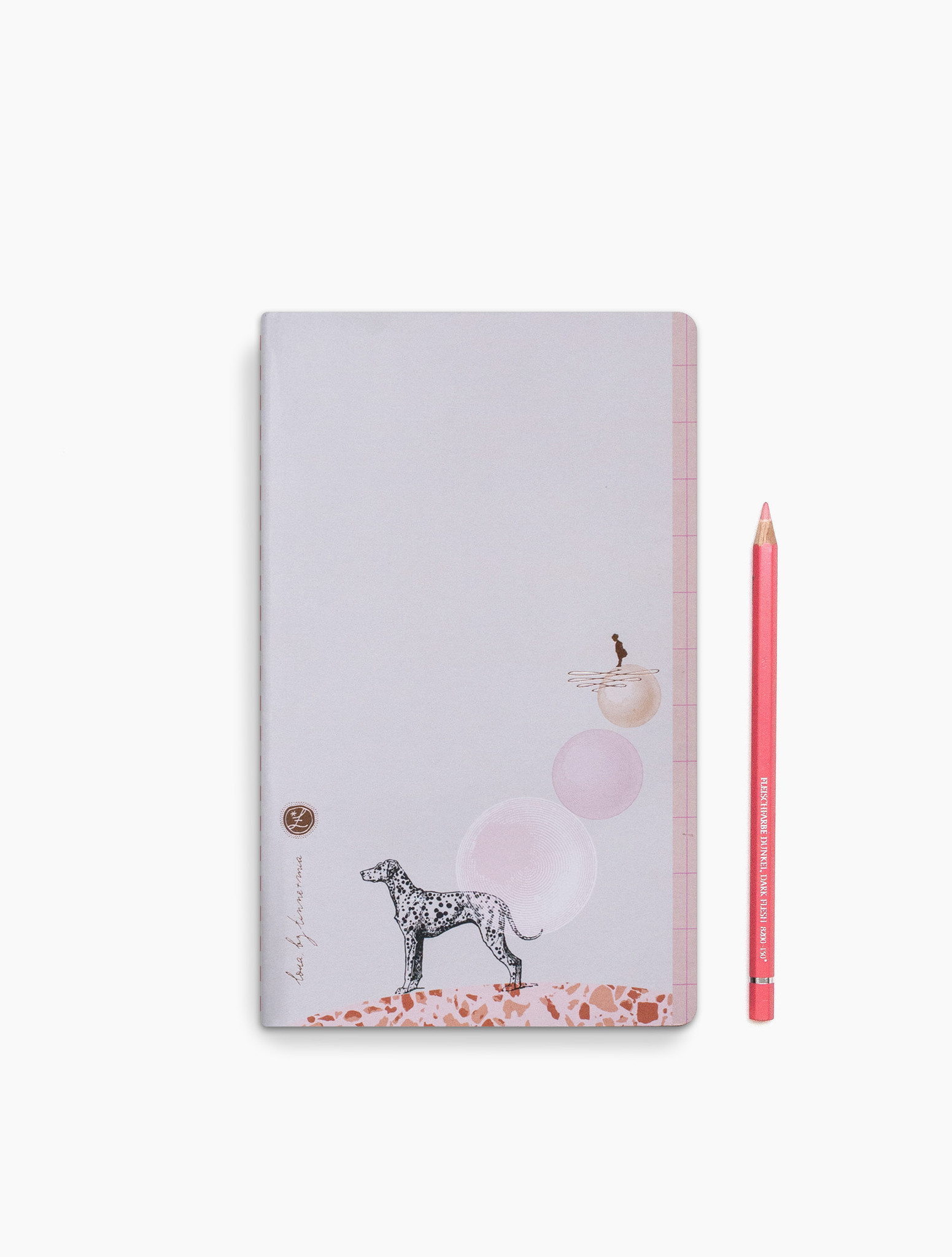 Dot grid notebook Loua - Dalmi Dog-1