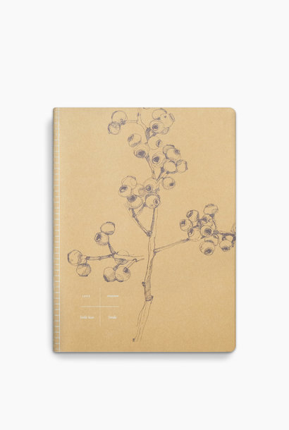 Notebook - Yellow Berry