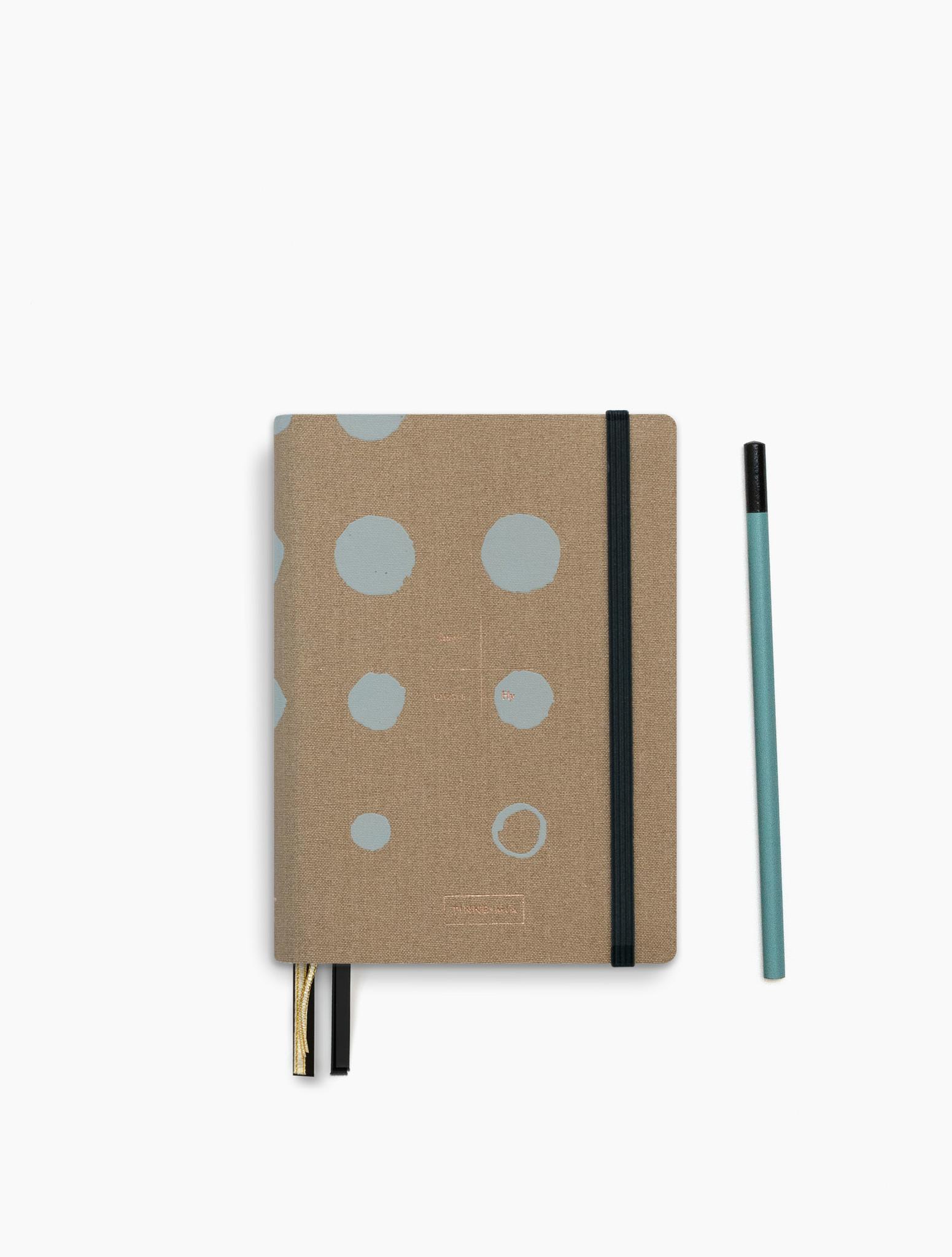 Adress Book - Mustard-1